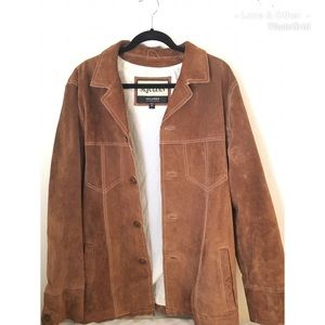 Wilson Leather Suede Jacket | Genuine Leather